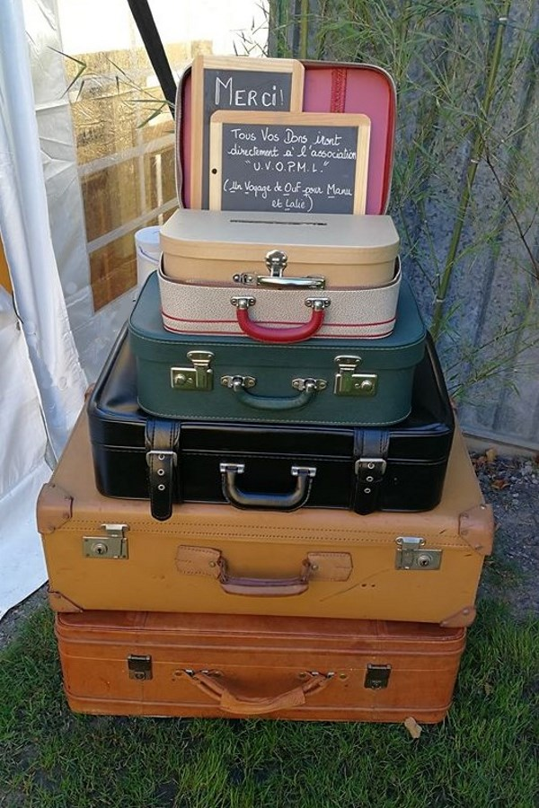 Composition de valise en Urne