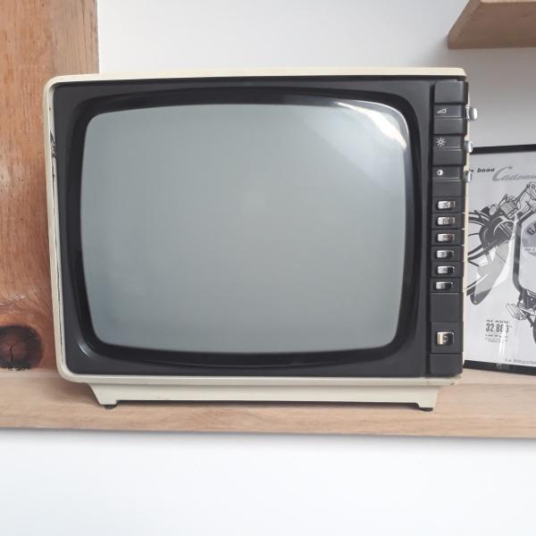 Petite TV Rétro Pour Décoration