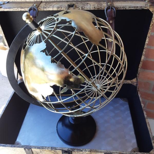 Globe Filaire Doré