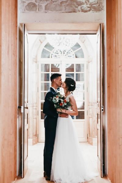 Mariés au Château Prieuré Marquet