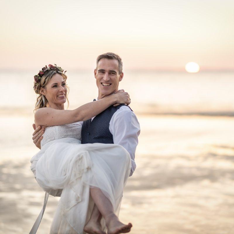 Mariage sur le sable du Bassin