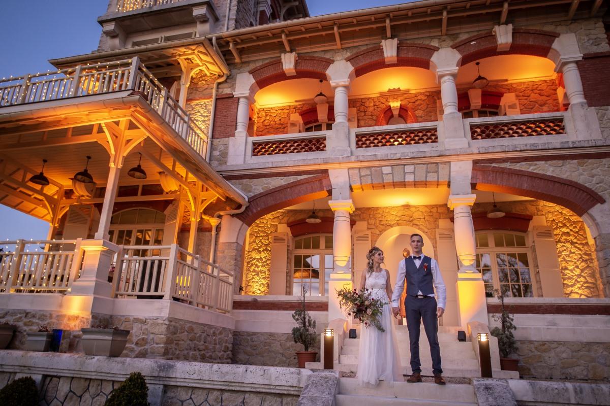 Mariage à la Villa Tosca