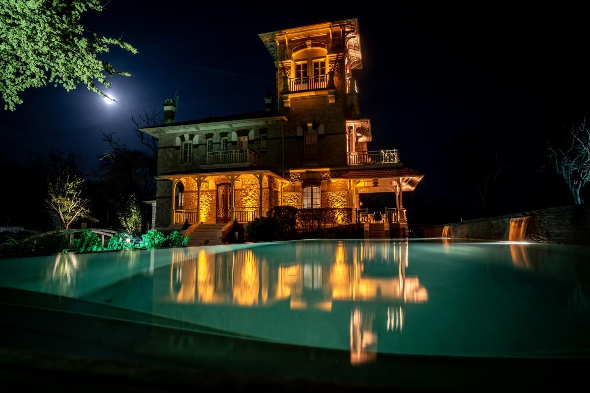 Villa la Tosca mise en lumière