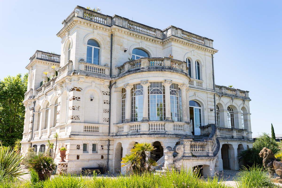Se marier sur le bassin d'Arcachon: Le Château Mader à Gujan-Mestras