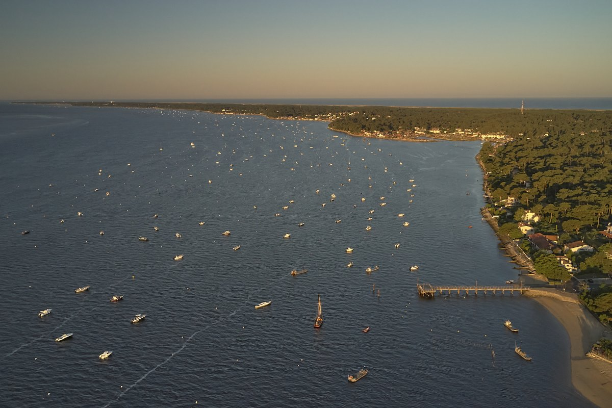 Le Bassin vu du ciel - Photo: MS Reflexdrone 33