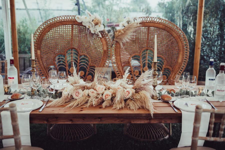 Table d'honneur de mariage